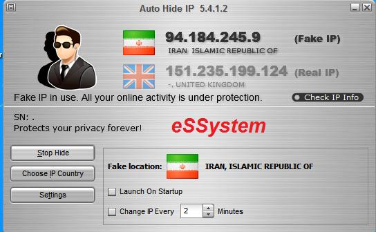 عبور از فیلتر با نرم افزار Auto Hide IP